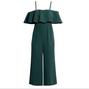 H&M Emerald Green Jumpsuit